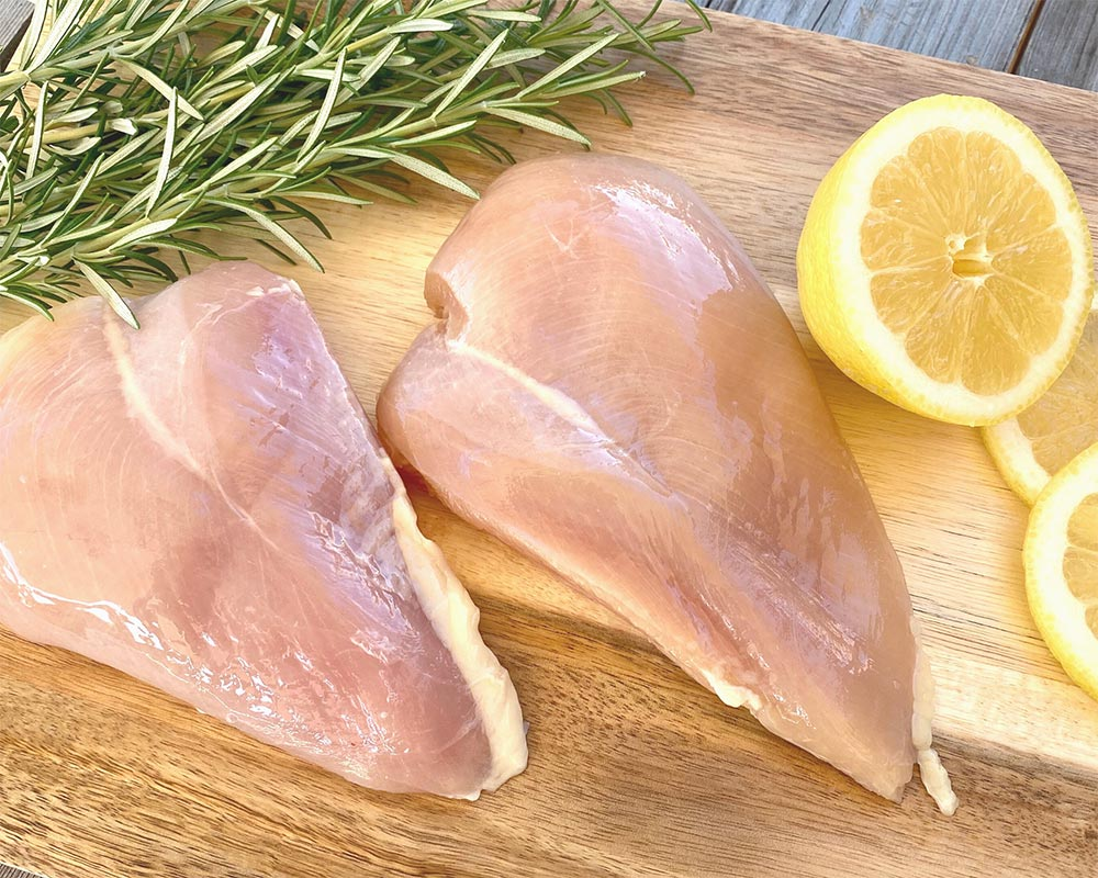 Boneless Skinless Chicken Breasts from Oregon Valley Farm