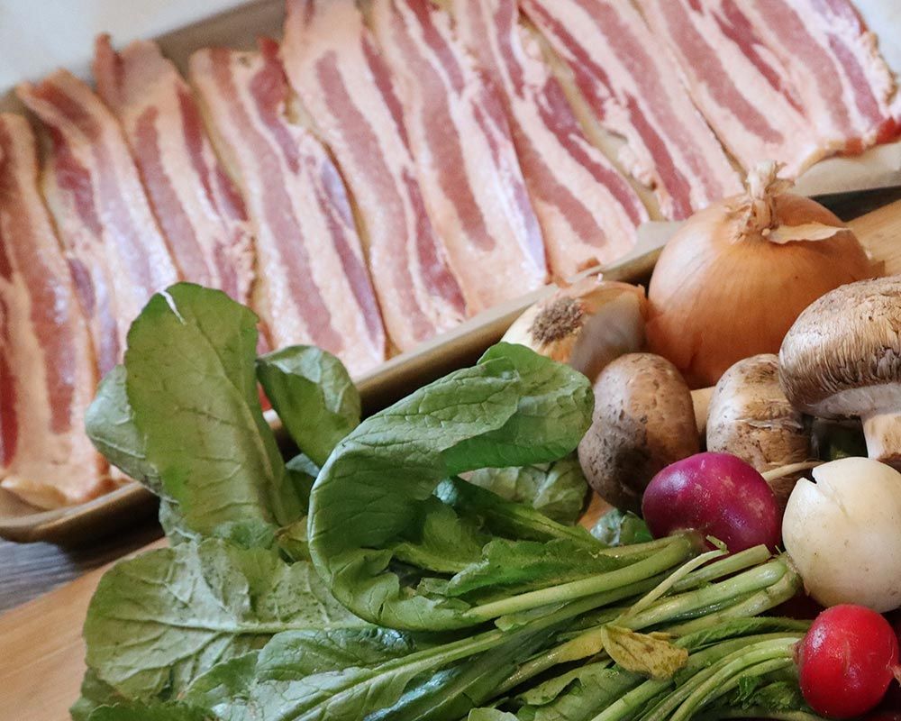 Bacon from Oregon Valley Farm