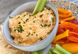 Buffalo Chicken Dip from Oregon Valley Farm