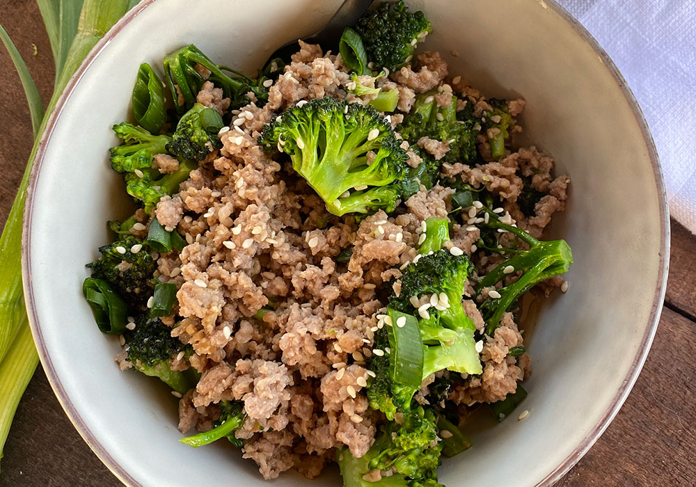 Pork Stir Fry Recipe from Oregon Valley Farm