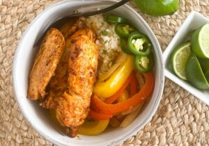 Chicken Fajita Keto Style Recipe from Oregon Valley Farm