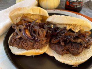 Cinnamon Chipotle Burgers from Oregon Valley Farm